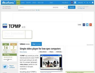 tcpmp.en.softonic.com screenshot