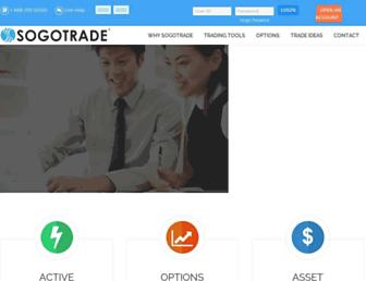 Thumbshot of Sogotrade.com