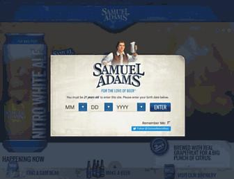 Thumbshot of Samueladams.com