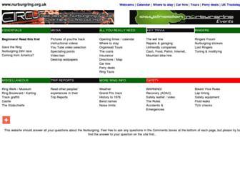 nurburgring.org.uk screenshot