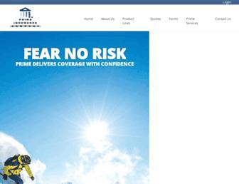 primeis.com screenshot