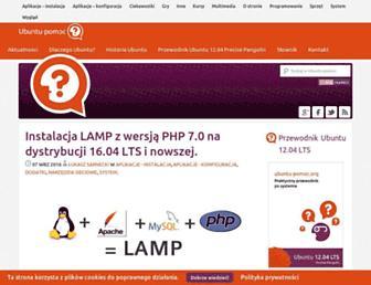 Thumbshot of Ubuntu-pomoc.org