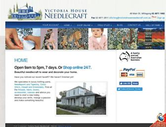 victoriahouseneedlecraft.com.au screenshot
