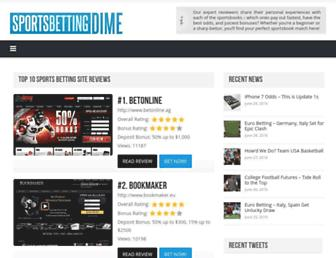 sportsbettingdime.com screenshot