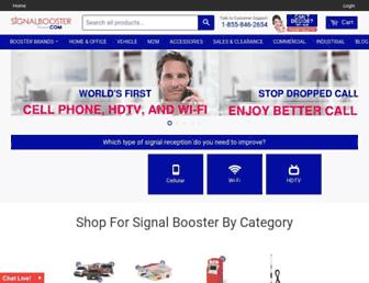 signalbooster.com screenshot
