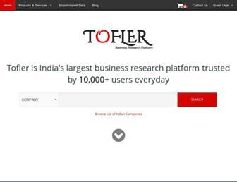 tofler.in screenshot