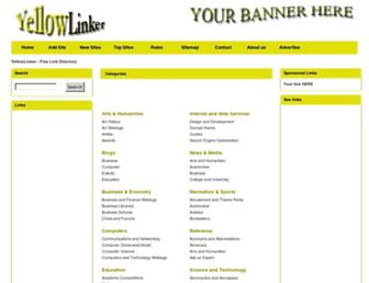Thumbshot of Yellowlinker.com
