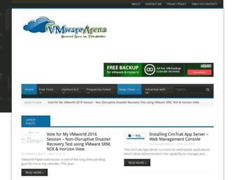 Thumbshot of Vmwarearena.com