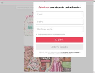 dinda.com.br screenshot