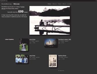 Main page screenshot of boydsnest.org