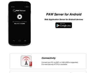 paw-android.fun2code.de screenshot