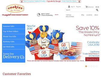 Thumbshot of Cookiesbydesign.com