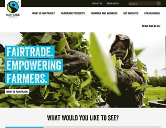 fairtradeamerica.org screenshot