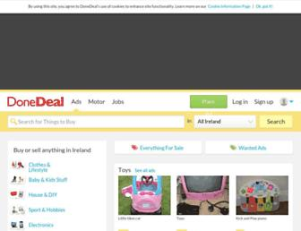 Thumbshot of Donedeal.ie