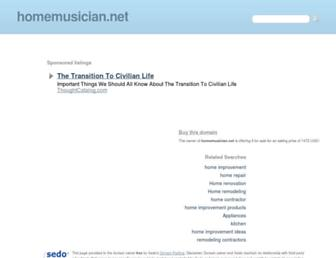 Thumbshot of Homemusician.net
