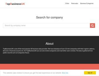 topbusinessuk.com screenshot