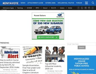 kenyayote.com screenshot