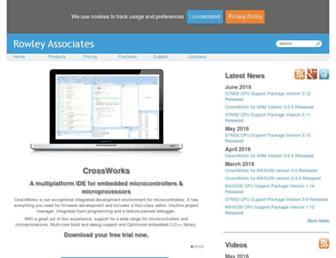 rowley.co.uk screenshot