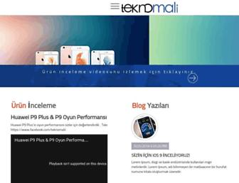 teknomali.com screenshot