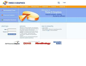 threedgraphics.com screenshot