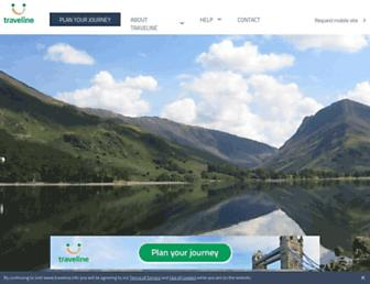 traveline.info screenshot