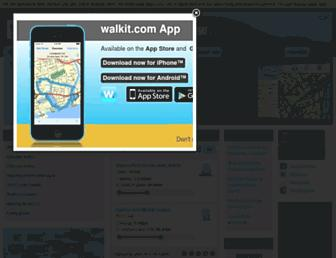 walkit.com screenshot