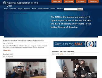 Thumbshot of Nad.org