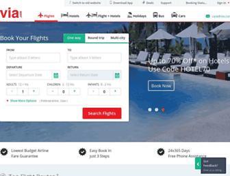 in.via.com screenshot