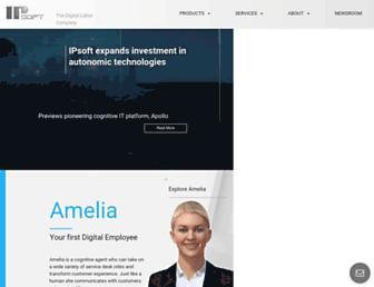 ipsoft.com screenshot