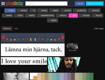 photofunky.net screenshot