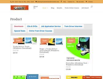 traineetraindriverinfo.com screenshot