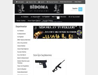sidomaav.com screenshot