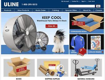 Thumbshot of Uline.com