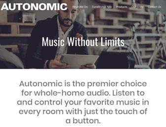 autonomiccontrols.com screenshot
