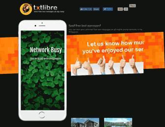 txtlibre.com screenshot
