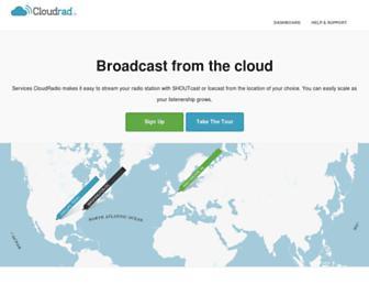 cloudrad.io screenshot