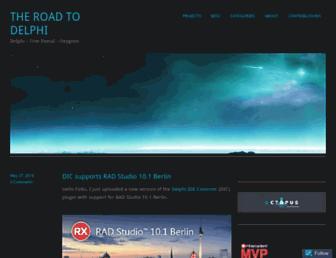 theroadtodelphi.com screenshot