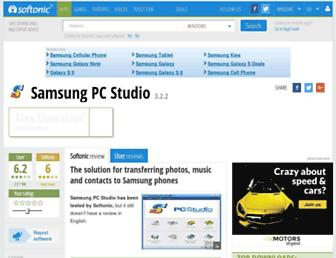 samsung-pc-studio.en.softonic.com screenshot