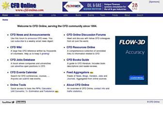 cfd-online.com screenshot