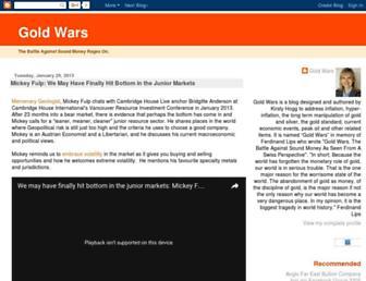 goldwars.blogspot.com screenshot