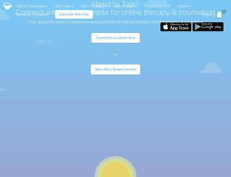 7cups.com screenshot