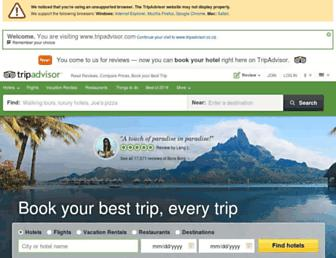 tripadvisor.co.za screenshot
