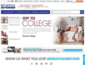 bedbathandbeyond.com screenshot