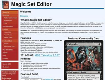 magicseteditor.sourceforge.net screenshot