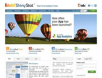 Thumbshot of Shinystat.com