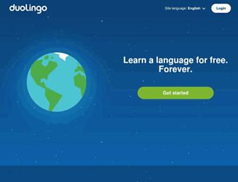 Thumbshot of Duolingo.com