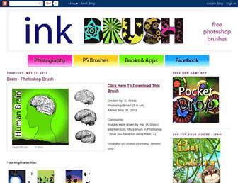 inkbrush.blogspot.com screenshot