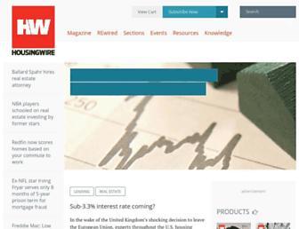 housingwire.com screenshot