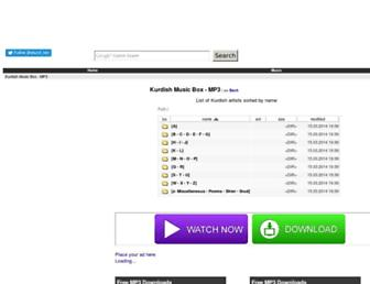 mp3.ekurd.net screenshot
