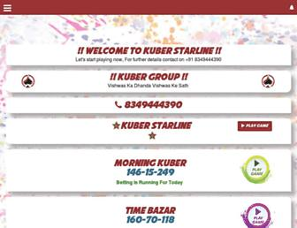 kuberstarline.com screenshot